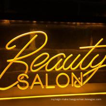 RGB advertising led light letters neon unbreakable acrylic backing board custom led neon logo letter logo sign