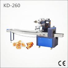 Máquina de embalagem automática do fluxo do bolo (KD-260)