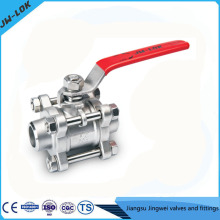 Best-selling SS high Pressure ball valve in high quality & economical price
