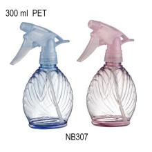 Garrafa de limpeza plástica da casa da garrafa do pulverizador do disparador 350ml (NB304)