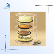 Best selling acrylic food display stand