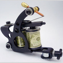 A máquina manual preta a mais atrasada do tatuagem da bobina das vendas a atacado vende