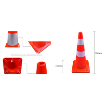 Wholesale market road signs PVC used traffic cones for road safety