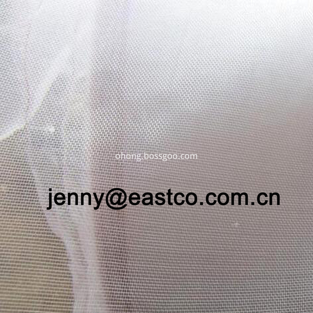 White Fiberglass Window Screen Netting