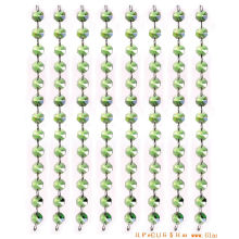Green Crystal Glass Bead Curtain