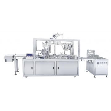 Three dimensional transparent film packaging machine
