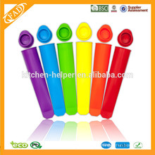 Top Sell Ice Cube Tray Popsicle Form / Silikon Popsicle Form / Silikon kommerziellen Eis Popsicle Formen