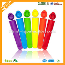 Top Sell Ice Cube Tray Popsicle Mold /Silicone Popsicle Mold /Silicone Commercial Ice Popsicle Molds