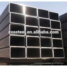 Q345 SHS / RHS Tuyau en acier galvanisé à chaud à chaud