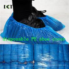 Couverture médicale antidérapante jetable de chaussure de fabrication en plastique non-tissée Kxt-Sc50