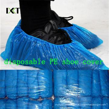 Fabricação médica antiderrapagem plástica não tecida descartável da tampa da sapata Kxt-Sc49