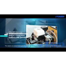 Rolo compactador de estrada vibratório hidráulico 700KG (FYL-855)