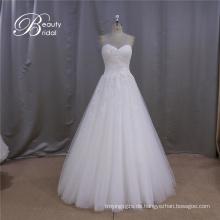 Einfache Brautkleid Eine Linie