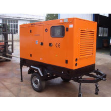 Three Phase Mobile Trailer Mounted Generator Set With Air Intercooler