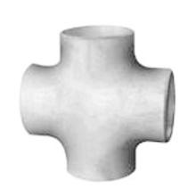 Croix en acier inoxydable à soudure boutonnée dans Sch80