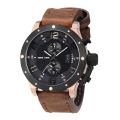 wholesale movement leather band sport men watch