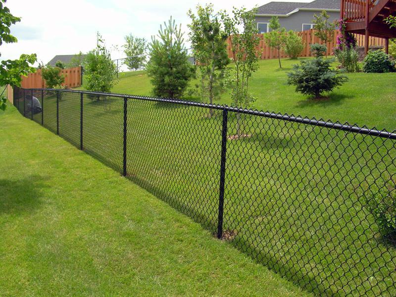 pvc diamond chain link fence