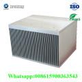 Custom Air Cooling Aluminium Die Casting Usado para máquinas de radiador