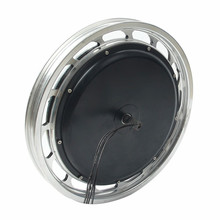 Motor eléctrico de la bicicleta del motor de la carretilla 18V 48V / 60V de 18 pulgadas