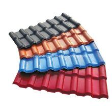 Tuile vernie japonaise de couleur de brique asa enduite pour le toit