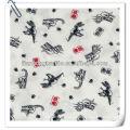100% cotton printed dinosaur dobby fabric