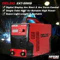 Newest Design Popular Style DC IGBT Portable Best Price MMA200/250 Inverter Welding Machine