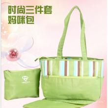 Neue gestreifte tragbare Mama Tasche