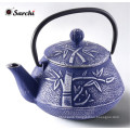 Placidity Cast Iron Teapot /Kettle with a Fully Enameled Interior