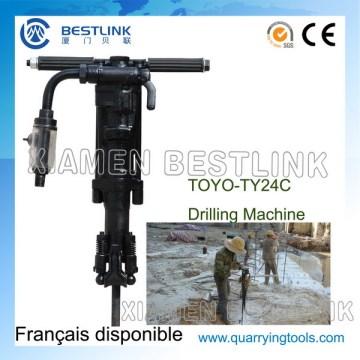 Toyo Ty24c Portable Pneumtatic Jack Hammer para perfuratriz