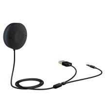 Adaptateur Bluetooth pour voiture avec récepteur audio mains libres