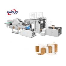 Vollautomatische scharfe Papiertütenmaschine mit doppelt gefaltetem Boden
