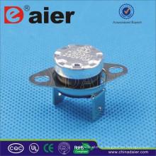 La goupille électrique de cintrage du cintre 16A 250V du KSD301 1650 ~ 180 degrés KSD301-OR2 disjoncteur avec le collier lâche