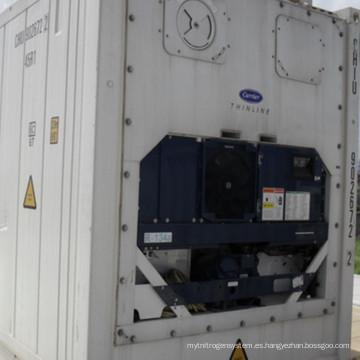 Recipiente refrigerado de alto cubo RC-44 40 'con soporte