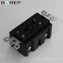 Household electrical single outlet 220v gfci receptacle