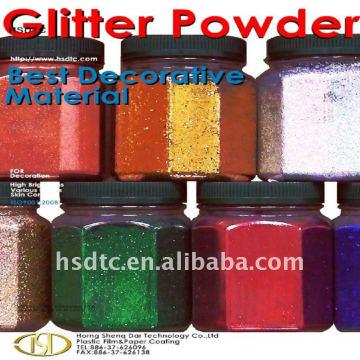 Aluminium-Glitzer-Pulver