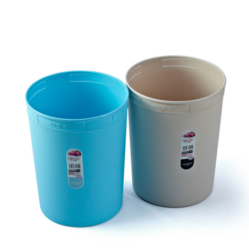 Plastic Open Top Rubbish Bin
