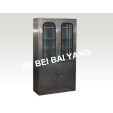 (C-4) Four Doors Stainless Steel Instrument Cabinet