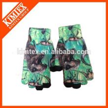 Invierno guantes de sublimación de poliéster para niños
