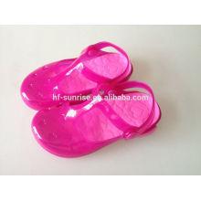 Neue stilvolle Kinder pvc Sandalen fancy Schuhe China billigsten Schuhe China Großhandel Kinder Schuhe
