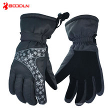 2015 100% Poly Men Outdoor Ski Snowboard Velvet Glove