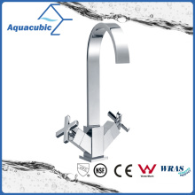 Sanitary Ware Brass Chromed Kitchen Faucet (AF6070-5)