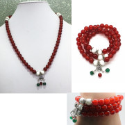 Sterling Silver Jewelry Gemstone Bracelet (Thai Silver)