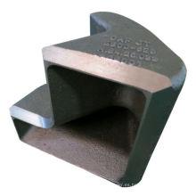 Fundición de acero de precisión para piezas ferroviarias