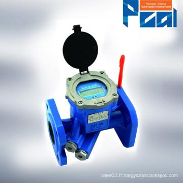 TUF-2000 Compteur d'eau à ultrasons alimenté par batterie
