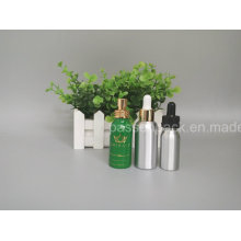 Aluminum Cosmetic Dropper Bottle for Essential Oil Packaging (PPC-ADB-016)