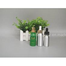 Alumínio cosméticos Dropper garrafa para a embalagem de óleo essencial (PPC-ADB-016)