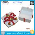 Hot Sale Ceramic Box Storage Box Merry Christmas Gift