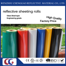 Pet Untearable Type Reflective Sheeting Film for Traffic Sign (C1300-O)