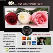 A4 Glossy Photo paper, Inkjet glossy photo paper,180gsm