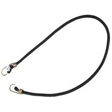Espesar la correa de equipaje elástica / doble gancho de metal cuerda de amarre de equipaje